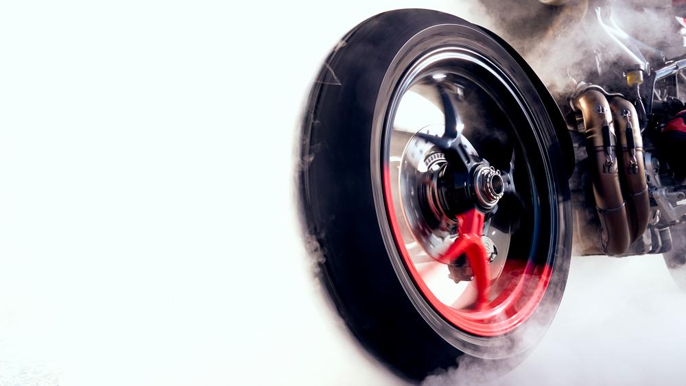 The Ducati Hypermotard 950 RVE.