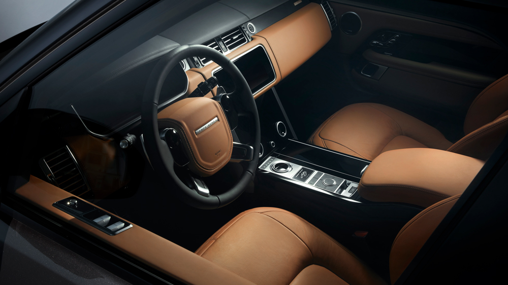 Inside the special-edition Range Rover Fifty.