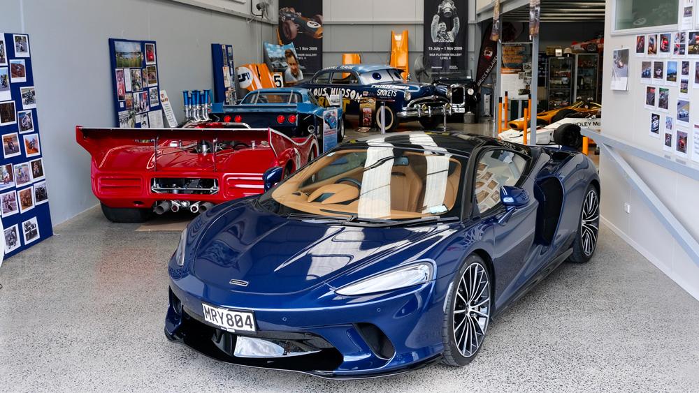 The Bruce McLaren Heritage Centre in New Zealand.
