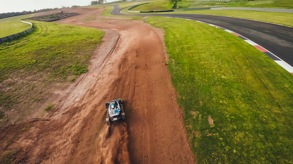 Crosskart racing at Monitcello Motor Club.