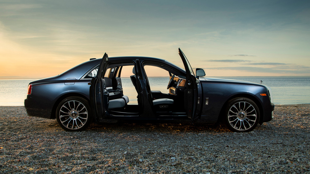 The Rolls-Royce Ghost Zenith Collector's Edition.