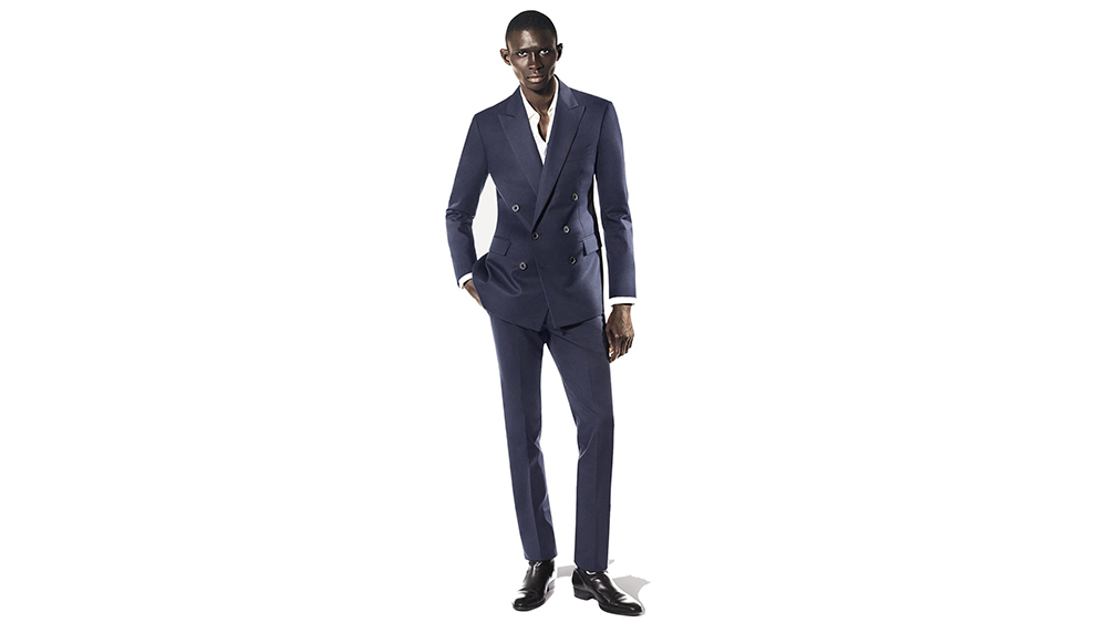 A. Sauvage made-to-measure double-breasted suit