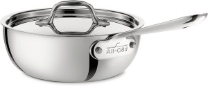 All-Clad Stainless-Steel Saucier