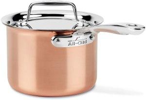 All-Clad Copper Saucepan