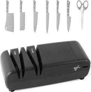 AirCover Two-Stage Knife Sharpener