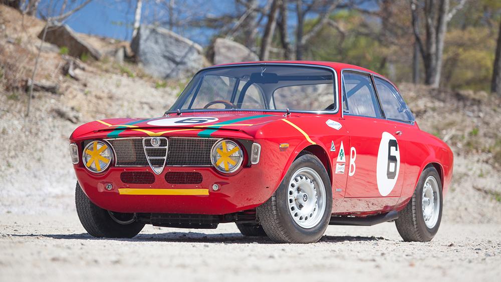 1966 Alfa Romeo Giulia Sprint GTA coupé