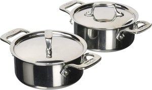 All-Clad Stainless-Steel Cocotte Set