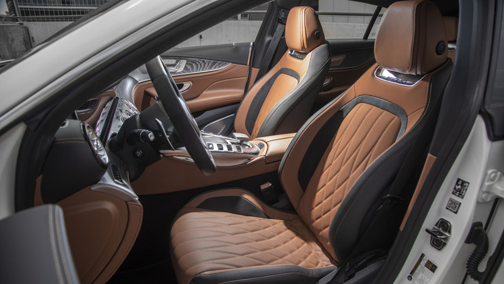 Inside the 2021 Mercedes-AMG GT43