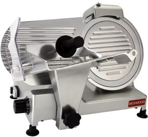 BESWOOD 10-Inch Electric Food Slicer