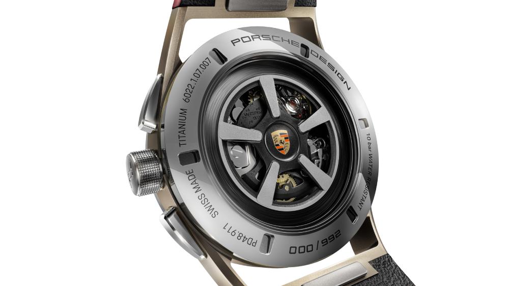 Porsche Design 911 targa 4s heritage design edition watch