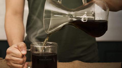 ParkBrew Pour Over Coffee Maker