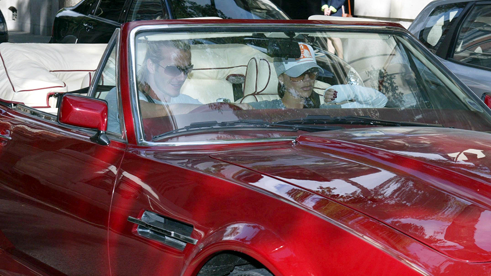David Beckham S 1987 Aston Martin Volante Is Up For Sale For 550k Robb Report