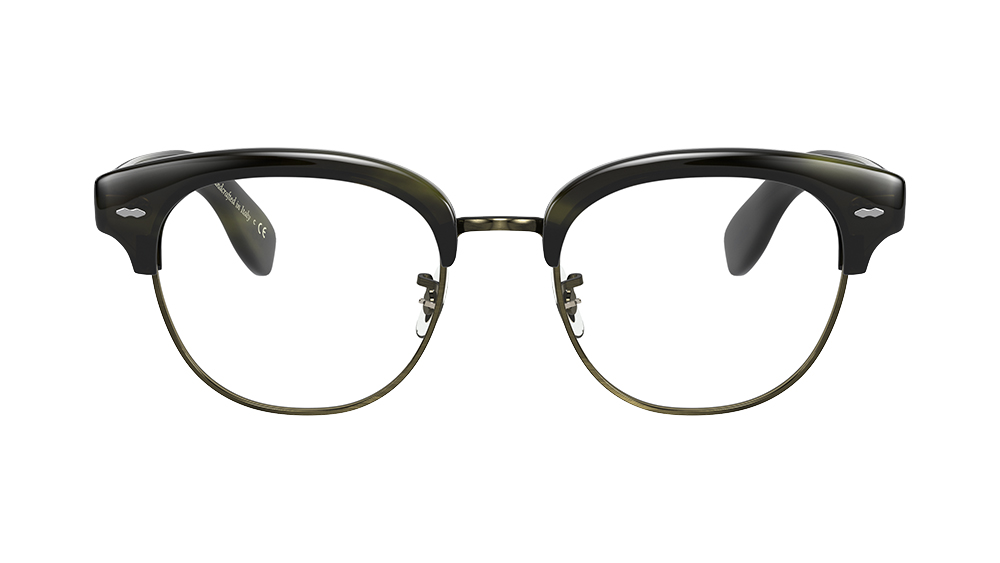 The Cary Grant 2 eyeglasses in 'Emerald Bark', $418.