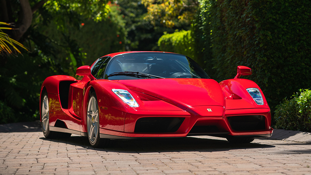 A Ferrari Enzo Set An Online Auction Record After Selling For 2 64m Robb Report