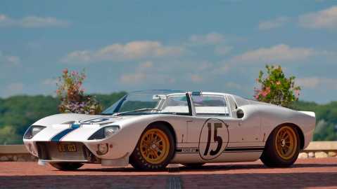 The Ford GT Competition Prototype Roadster GT/109