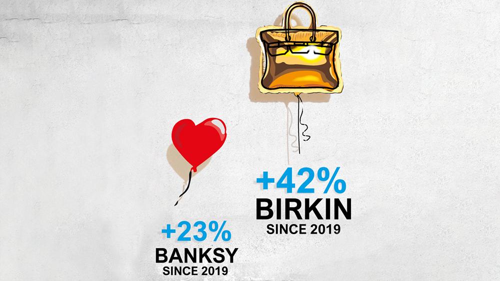 Hermès Birkin outperforms Banksy