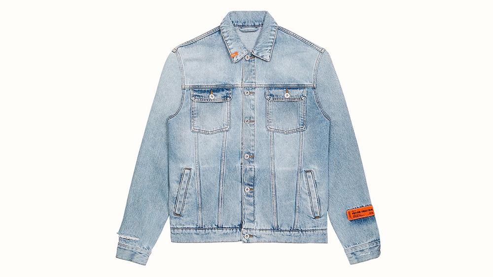 Heron Preston Denim Jacket, $347