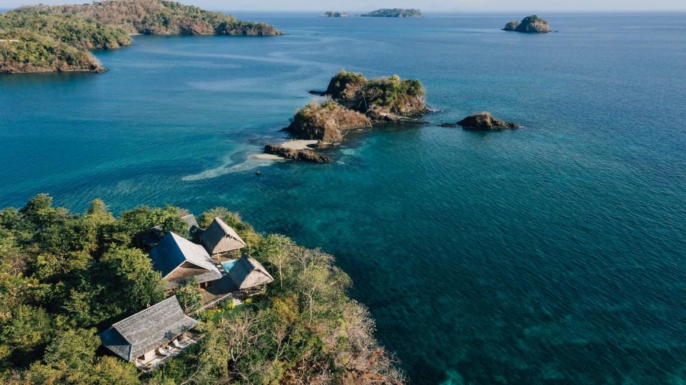 Islas Secas Panama private island
