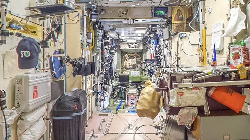 A look inside the International Space Station
