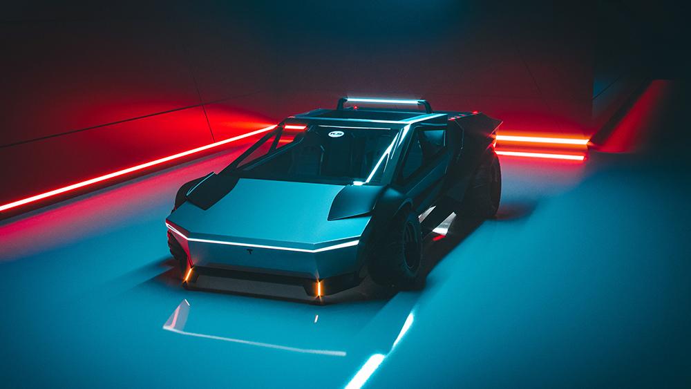 Khyzyl Saleem Cybertruck Concept