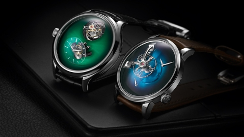 H. Moser & Cie x MB&F Watch Collaboration