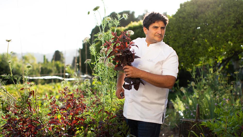 Mirazur mauro colagreco chef garden