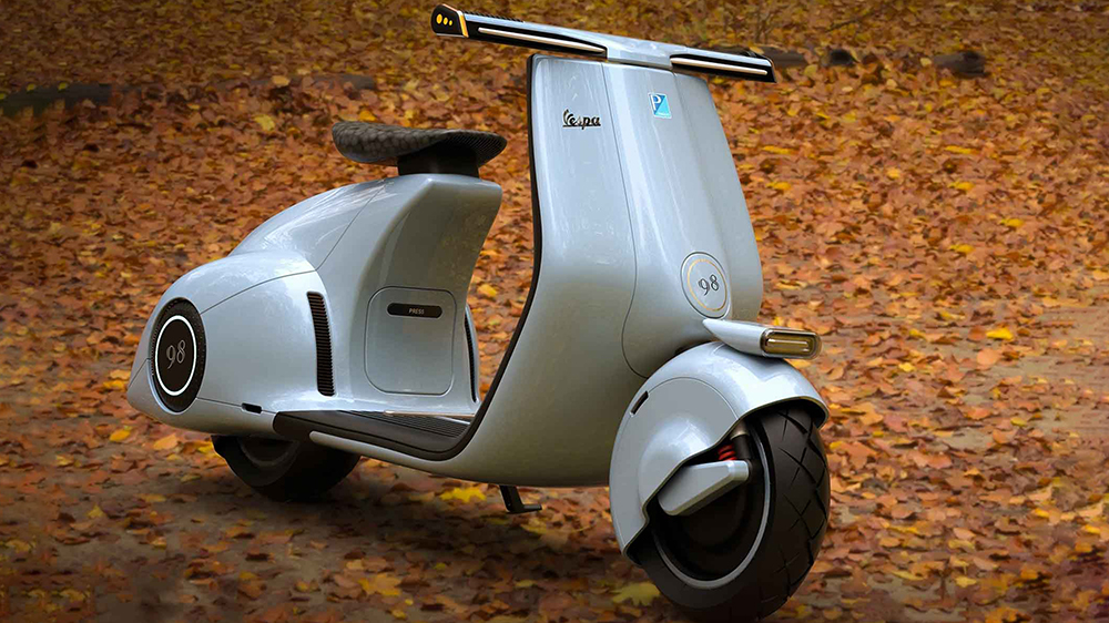 Mightyseed Electric Vespa