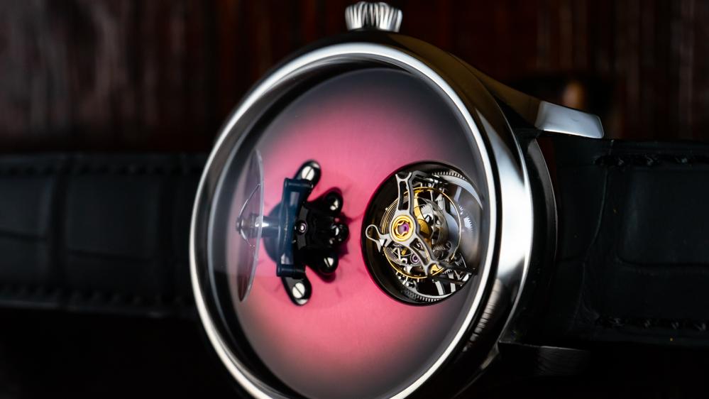 H. Moser x MB&F Endeavour Cylindrical Tourbillon