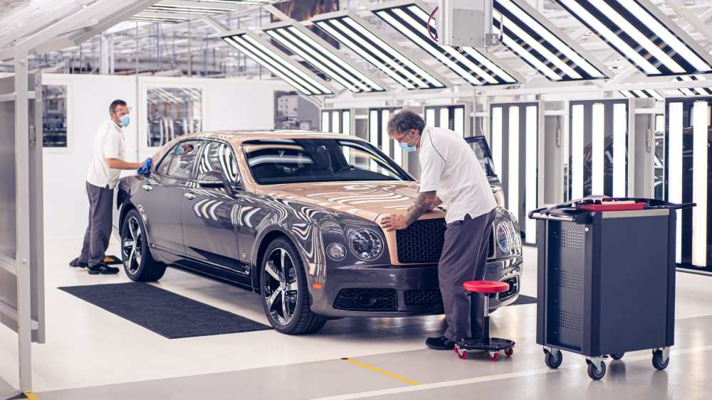 Bentley Mulsanne final