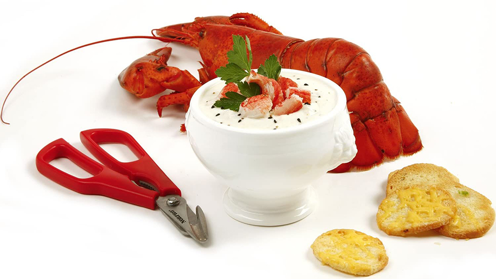 tool lobster,similar seafood and shellfish for eating crab special scissors