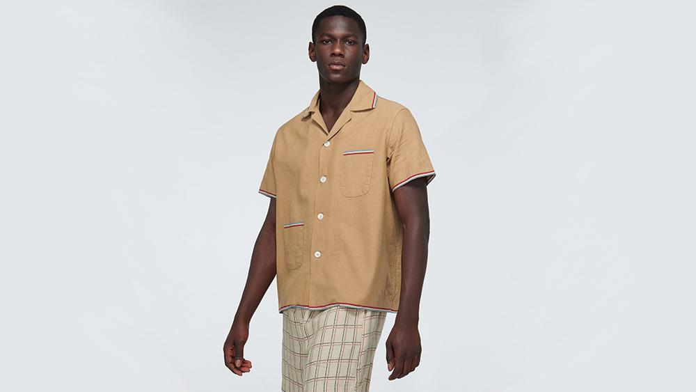 Bode workman's shirt
