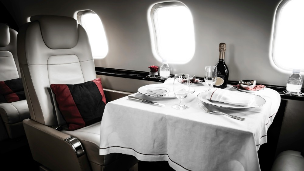 Private Jet Services interior aircraft