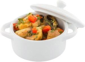 Restaurantware Porcelain Cocotte Set