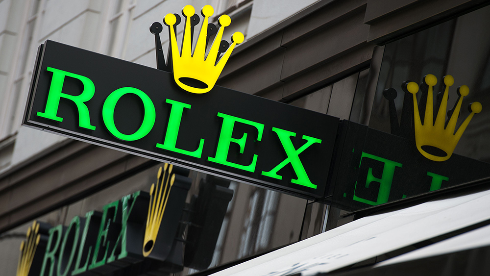 An actual Rolex Store