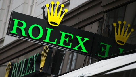 An actual Rolex Store