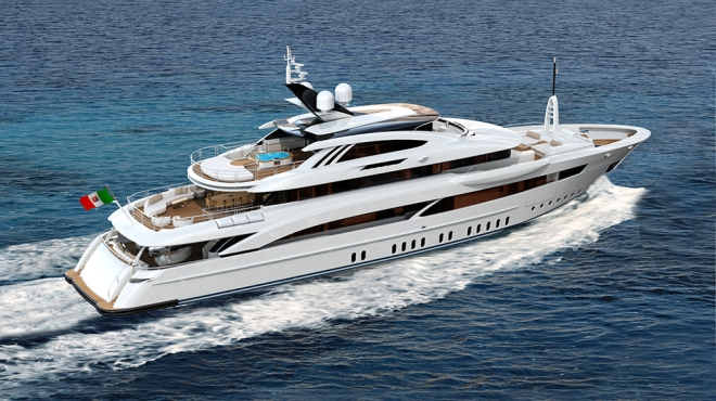 Rossinavi 170-Foot Superyacht Florentia