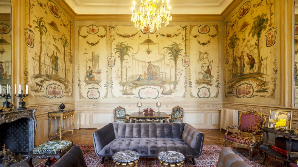 BARON'S SUITE, HOTEL CHÂTEAU DU GRAND-LUCÉ, PAYS DE LA LOIRE