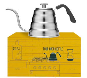 Barista Warrior Gooseneck Kettle