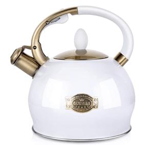 Susteas Whistling Tea Kettle
