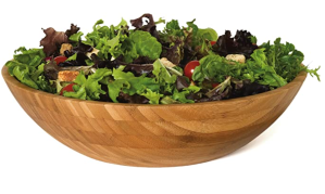 Lipper International Bamboo Salad Bowl