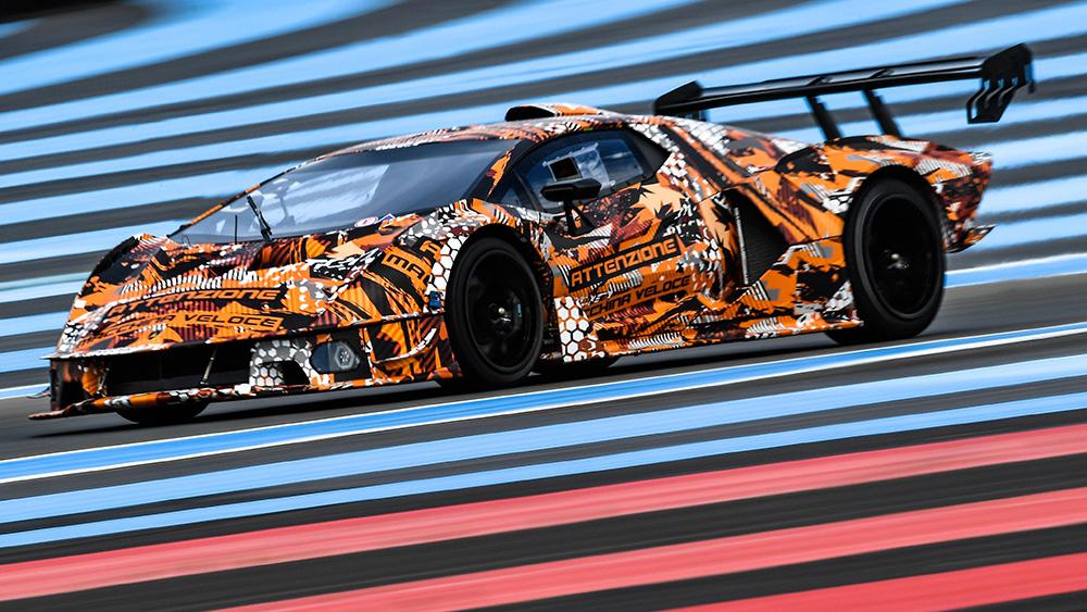 Lamborghini SCV12 track-only supercar