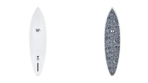 Dior Shawn Stussy surfboard