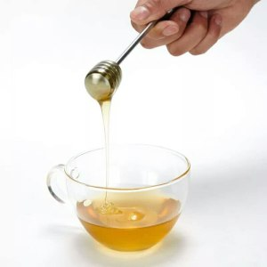 Stainless-Steel Honey and Syrup Dipper