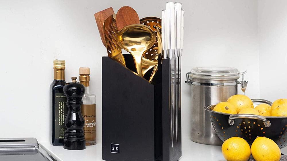 Styled Settings Magnetic Knife Block