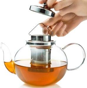 Kitchen Kite Glass Teapot