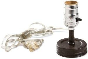 Colonial Tin Works Mason Jar Lamp Adaptor