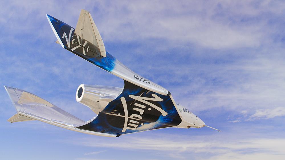 Virgin Galactics SpaceShipTwo space plane