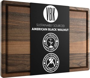 Virginia Boys Kitchens Walnut Cutting Board