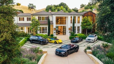 The Weeknd's $25m LA mansion