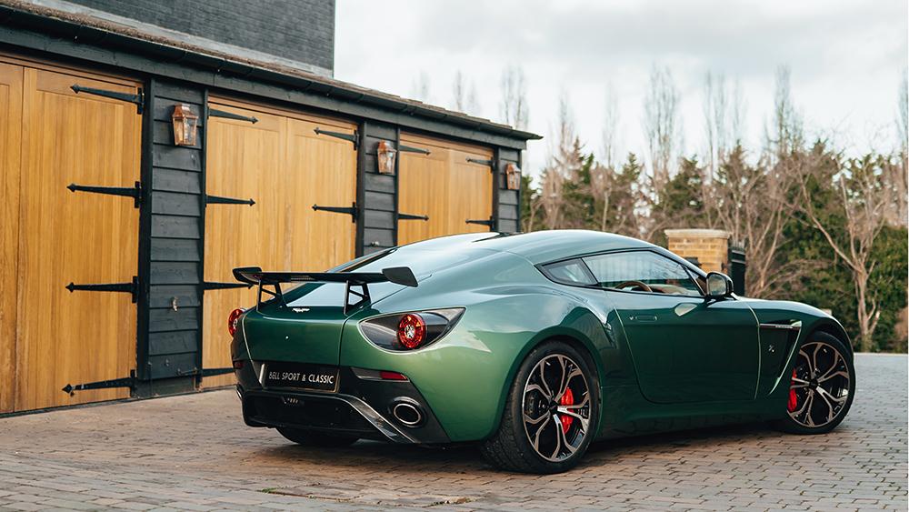Aluminum-bodied 2012 Aston Martin V12 Zagato